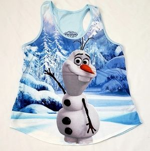 3 for $19  Olaf Frozen Tank Top